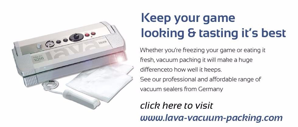 Lava Vacuum Packing